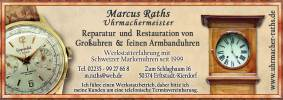 Marcus Raths – Uhrmachermeister